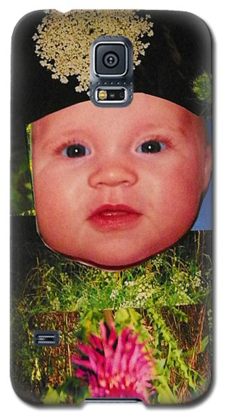 Galaxy S5 Case featuring the photograph Nature Girl II by Shirley Moravec