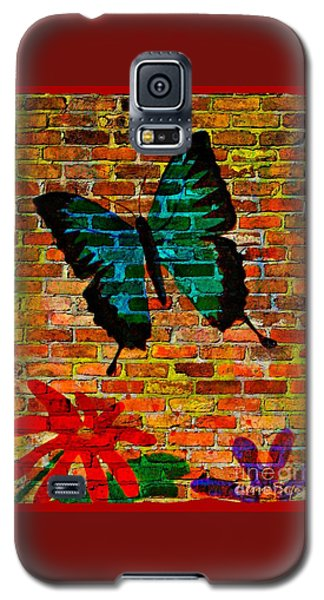 Nature On The Wall Galaxy S5 Case by Leanne Seymour