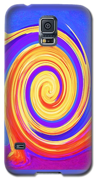 Nature Twirling Galaxy S5 Case