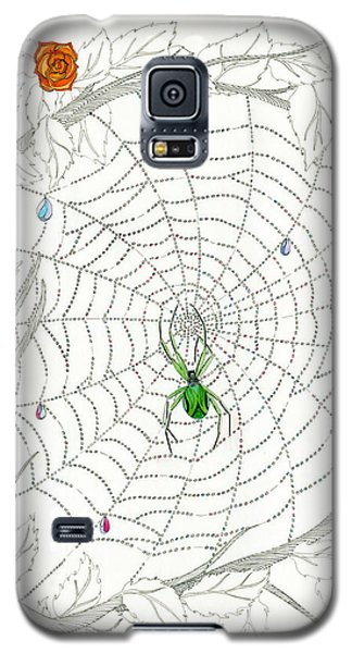 Galaxy S5 Case featuring the drawing Nature's Art by Dianne Levy