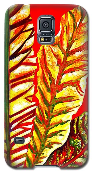 Galaxy S5 Case featuring the painting Nature's Gifts by Julie  Hoyle