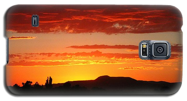 Natures Orange Paint Galaxy S5 Case