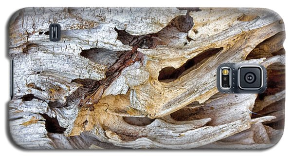 Galaxy S5 Case featuring the photograph Nature's Sculpture by Shirley Mitchell