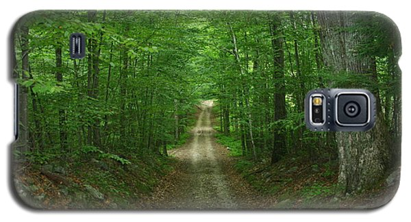 Galaxy S5 Case featuring the photograph Nature's Way At James L. Goodwin State Forest  by Neal Eslinger