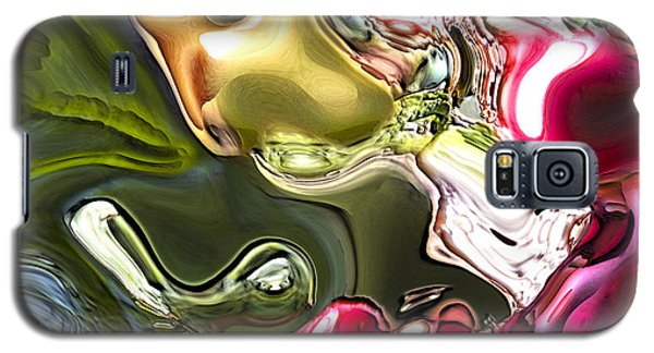 Galaxy S5 Case featuring the painting Naturescape by Richard Thomas