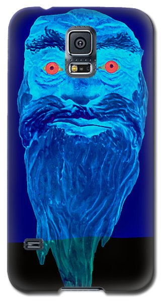 Naughty Blue Ghost Galaxy S5 Case