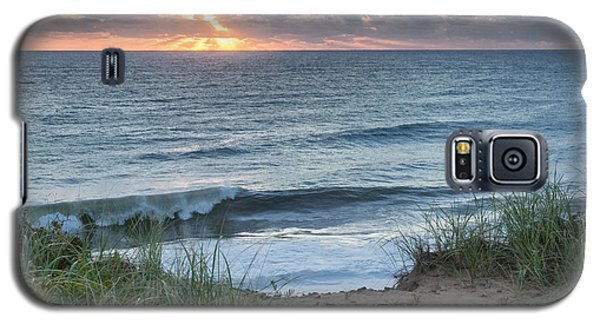 Nauset Light Beach Sunrise Square Galaxy S5 Case