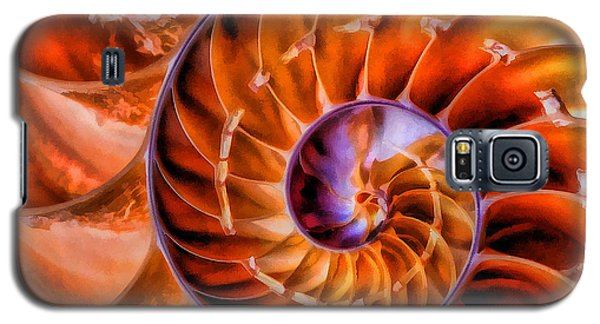 Nautilus Galaxy S5 Case by Clare VanderVeen