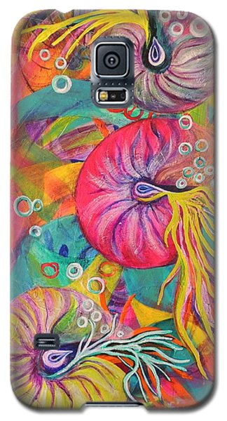 Nautilus Galaxy S5 Case by Lyn Olsen
