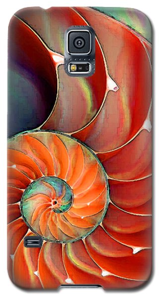 Nautilus Shell - Nature's Perfection Galaxy S5 Case
