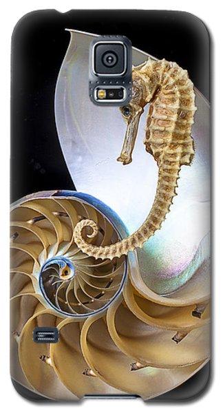Nautilus With Seahorse Galaxy S5 Case