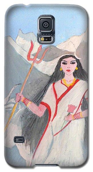 Nava Durga Shailputri Galaxy S5 Case