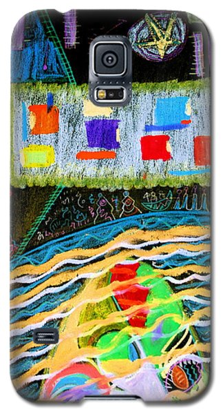 Navigational Horizon Galaxy S5 Case by Clarity Artists