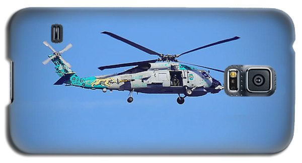 Navy Jaguar Helicopter Galaxy S5 Case