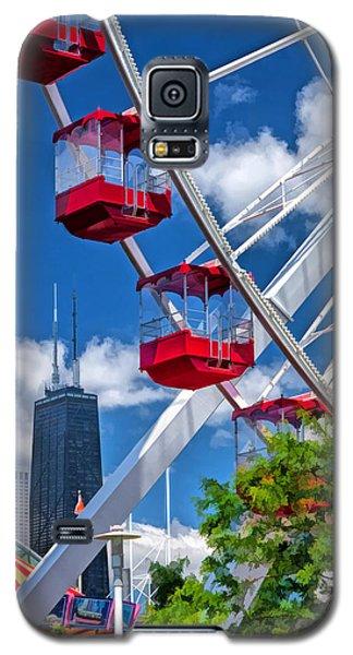 Chicago Navy Pier Ferris Wheel Galaxy S5 Case