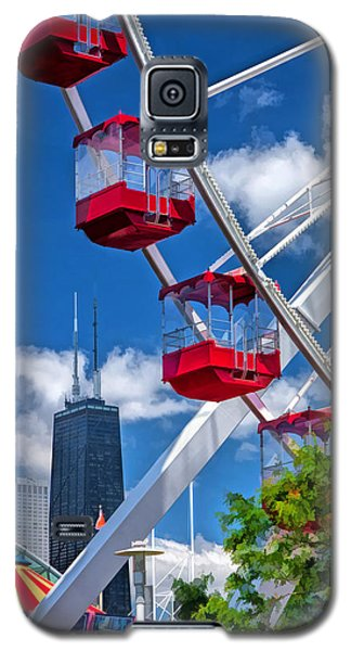 Navy Pier Ferris Wheel Galaxy S5 Case