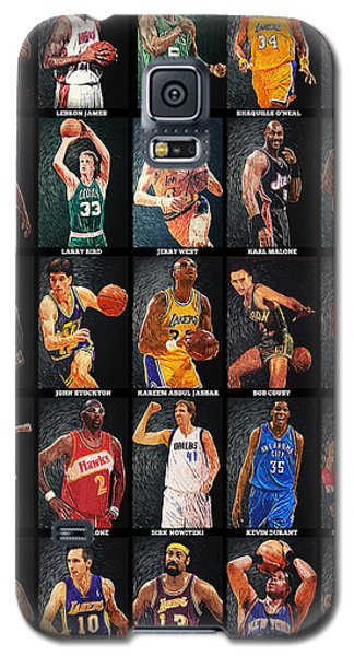 Nba Legends Galaxy S5 Case by Taylan Apukovska
