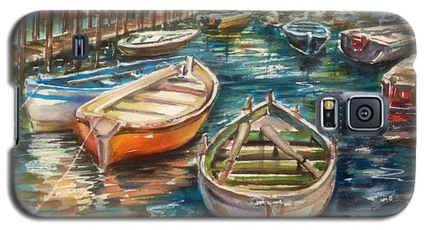 Near The Harbour Galaxy S5 Case