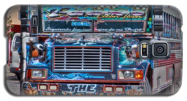 Neat Panamanian Graffiti Bus  Galaxy S5 Case by Eti Reid
