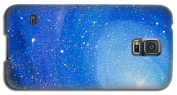 Blue Nebula Galaxy S5 Case