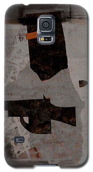 Galaxy S5 Case featuring the mixed media Ned Kelly #1 by Kim Gauge