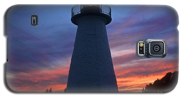 Galaxy S5 Case featuring the photograph Ned's Point Lighthouse by Amazing Jules