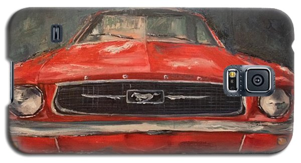 Galaxy S5 Case featuring the painting Need For Speed by Lindsay Frost