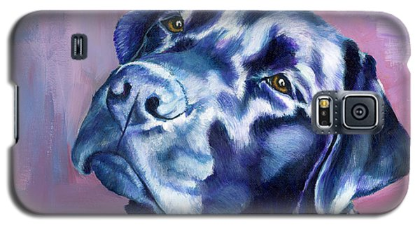 Need Help With That? Black Lab Galaxy S5 Case