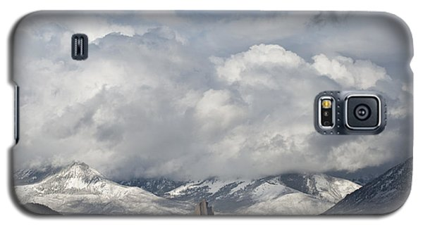 Needle Rock Clearing Sky Galaxy S5 Case