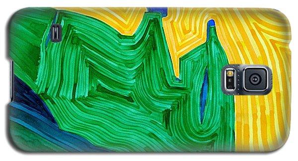 Nefertiti Original Painting Galaxy S5 Case
