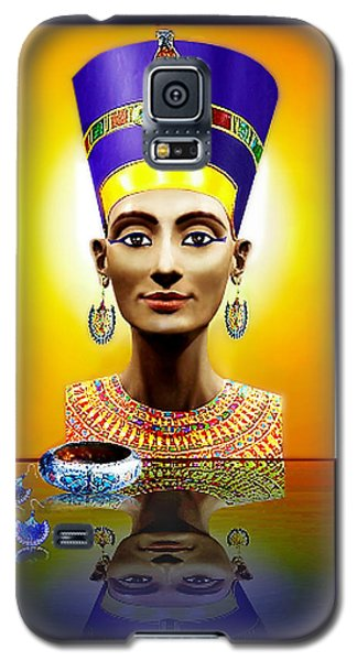 Galaxy S5 Case featuring the photograph Nefertiti  The  Beautiful by Hartmut Jager