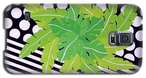 Negative Green Galaxy S5 Case