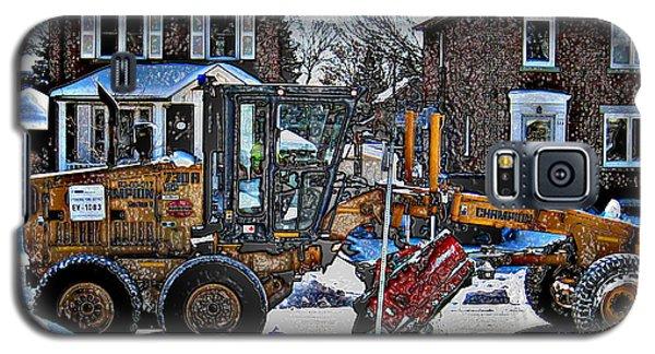 Neighbourhood Snowplough Galaxy S5 Case by Nina Silver