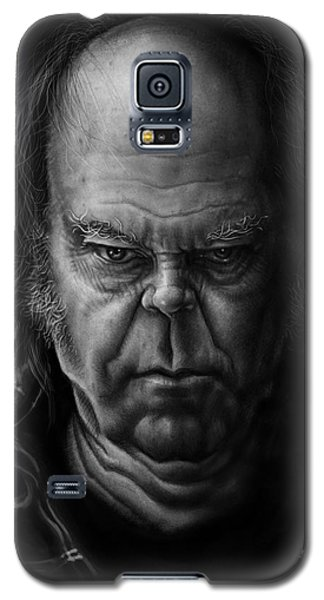 Neil Young Galaxy S5 Case by Andre Koekemoer
