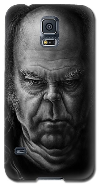Neil Young Galaxy S5 Case - Neil Young by Andre Koekemoer