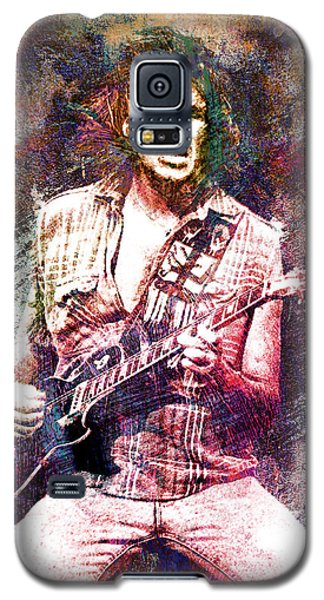 Neil Young Galaxy S5 Case - Neil Young Original Painting Print by Ryan Rock Artist