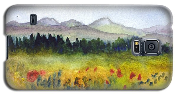 Nek Mountains And Meadows Galaxy S5 Case by Donna Walsh