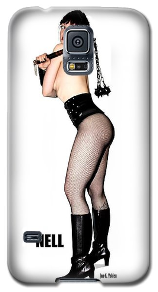 Nell Vgirl Pinup Galaxy S5 Case