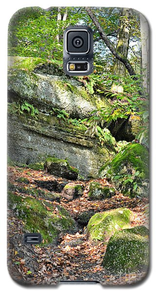 Galaxy S5 Case featuring the photograph Nelson-kennedy Ledges by Lila Fisher-Wenzel