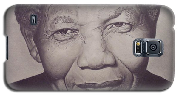 Nelson Mandela Galaxy S5 Case by Wil Golden