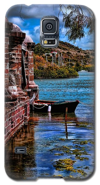 Nelson's Dockyard Antigua Galaxy S5 Case by Tom Prendergast