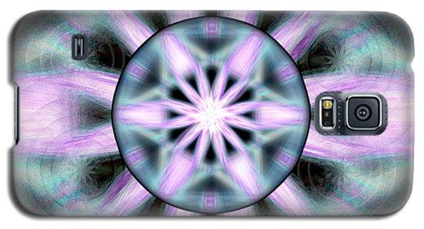 Galaxy S5 Case featuring the drawing Neo Liquid Sky by Derek Gedney
