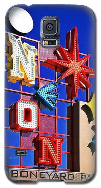 Vegas Neon Boneyard Galaxy S5 Case