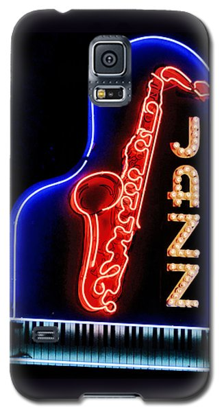 Neon Jazz Galaxy S5 Case