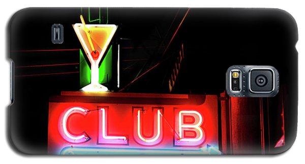 Neon Sign Club Galaxy S5 Case