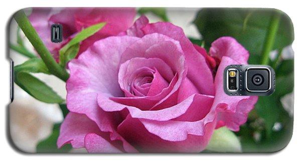 Neptune Rose Galaxy S5 Case by Marlene Rose Besso