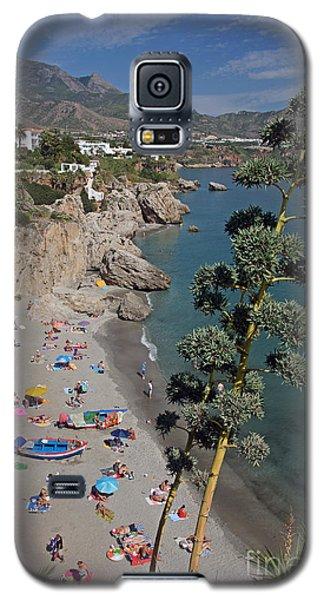 Nerja Beach Galaxy S5 Case by Rod Jones