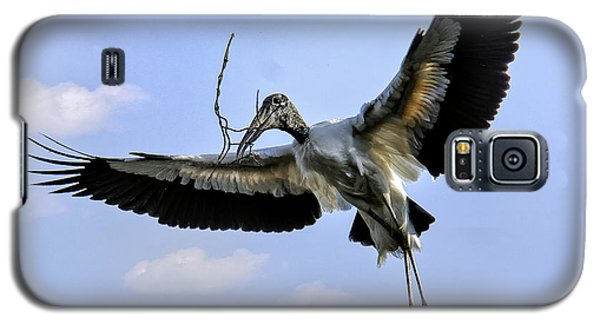 Nest Building Woodstork Galaxy S5 Case