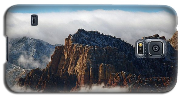 Nestled In The Clouds Galaxy S5 Case by Alan Socolik