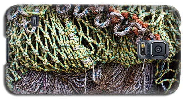 Nets And Knots Number Three Galaxy S5 Case by Elena Nosyreva